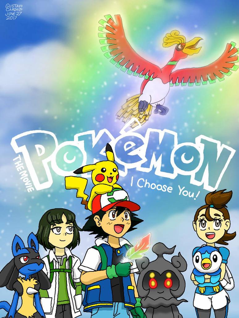 pokemon 20th movie poster with logo by gustavocardozo97 on deviantart