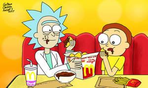 It's the Szechuan Sause, Morty!