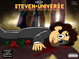 Steven Universe Parody of Zach's album cover by GustavoCardozo97
