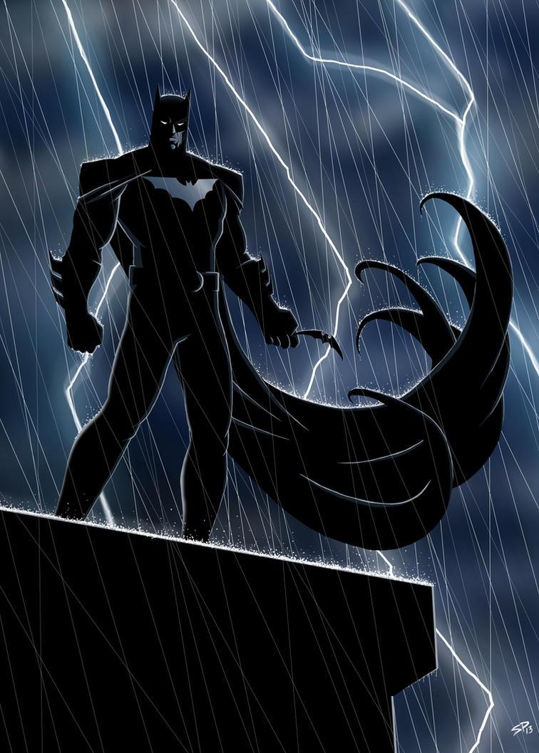 Batman by SimonPenter