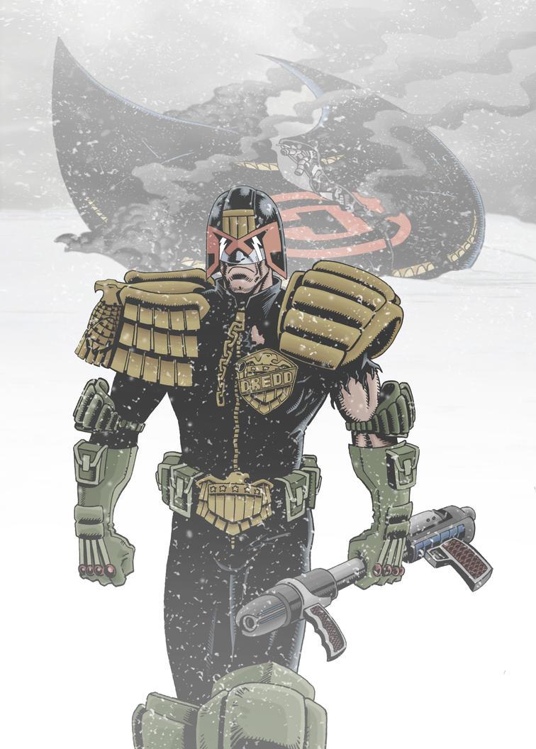 Dredd : The Apocalypse War by SimonPenter