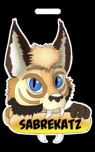 Sabrekatz badge by Frisket by OurMassHysteria