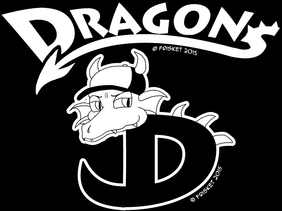 (Little League) Dragons - Shirt and Hat Logo by OurMassHysteria