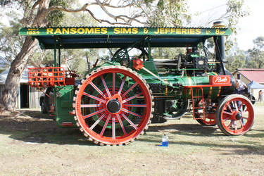 STOCK STEAM TRACTION ENGINE