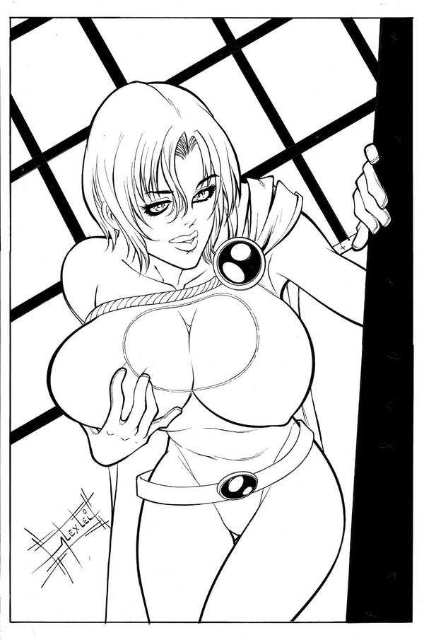 powergirl manga by alexlei