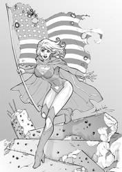 Supergirl by alexlei