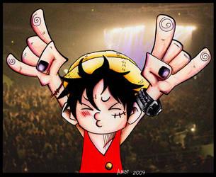 Luffy Rox by Gaara666