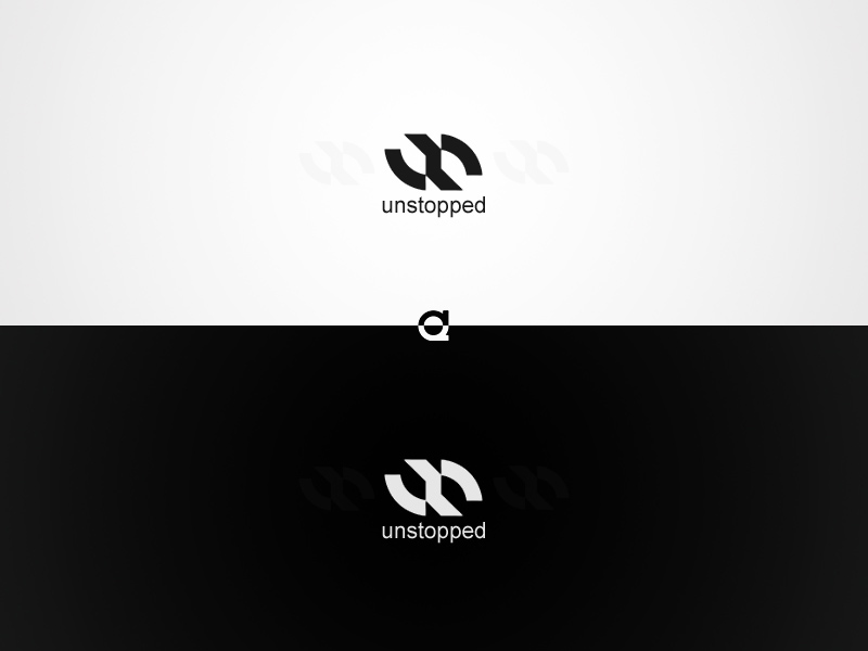 Unstopped Logo by draftwave
