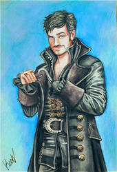 Captain Hook/Killian Jones by KechaWolf