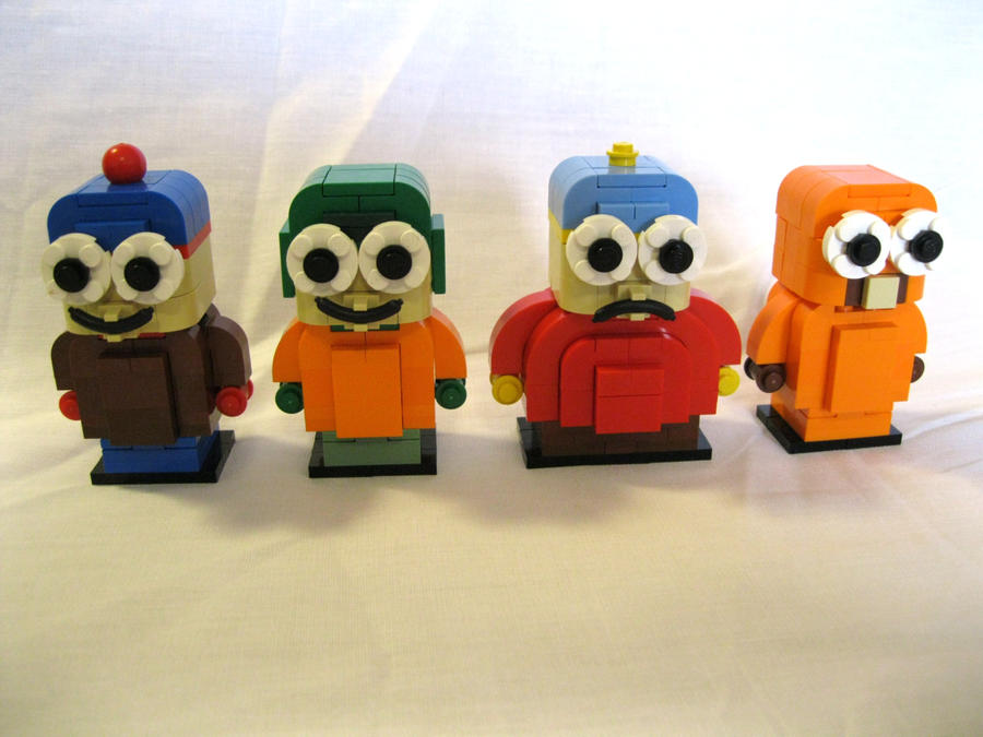 LEGO South Park Characters by bezbrick