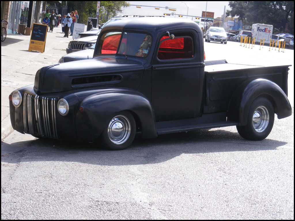 Hot Rod Ford truck by QuicksilverFX on DeviantArt