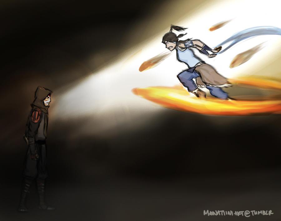 Avatar Korra by Manatiini