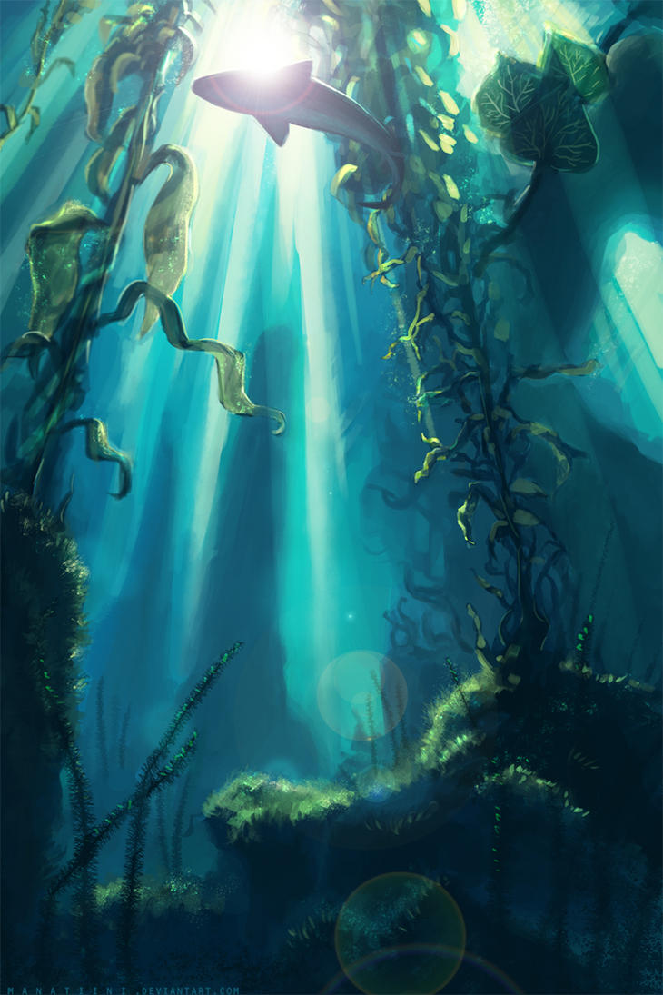 Summer Submerged by Manatiini