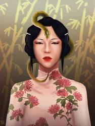 Snake Mistress by Manatiini