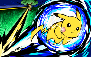 Pikachu | Volt Tackle by ishmam