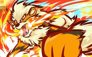 Arcanine | Fire Fang by ishmam