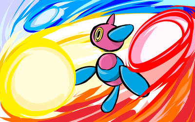 Porygon-Z | Tri-Attack by ishmam