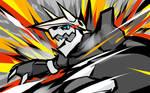 Aggron   Metal Burst