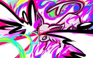 Espeon | Psybeam by ishmam