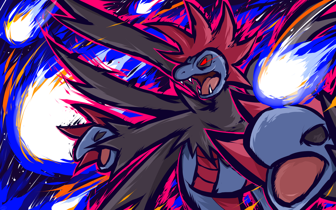 Hydreigon | Draco Meteor