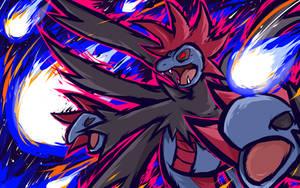 Hydreigon | Draco Meteor by ishmam