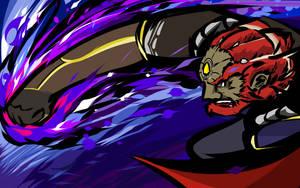 Ganondorf | Warlock Punch by ishmam