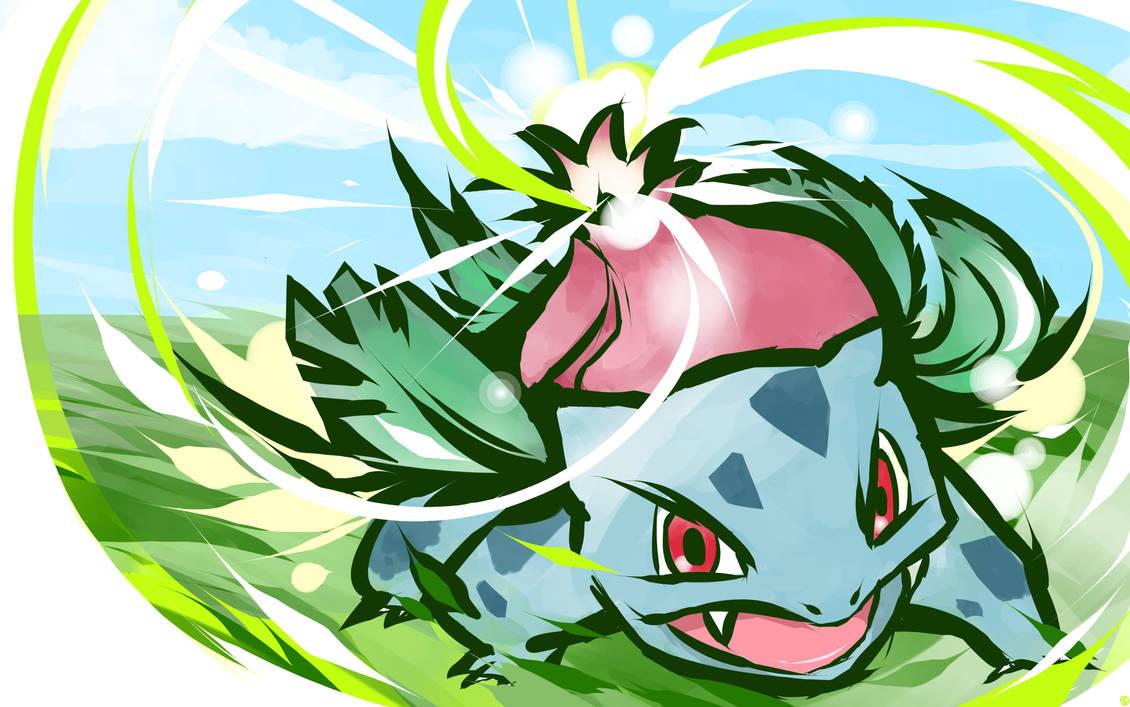 Ivysaur | Solar Beam by ishmam