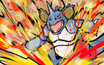 Shiny Nidoking | Earth Power