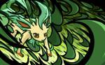 Leafeon | Razor Leaf