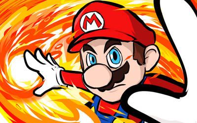 Mario | Fireball by ishmam