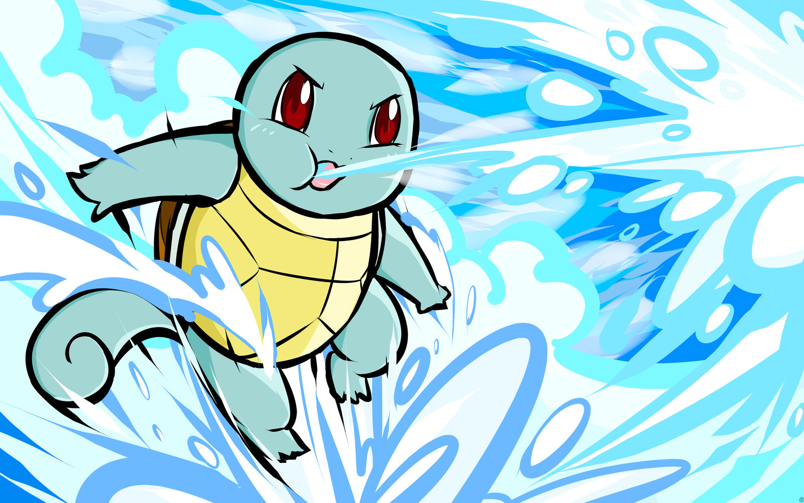 Squirtle | Bubble by ishmam