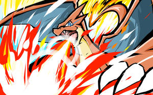 Mega Charizard Y | Overheat by ishmam