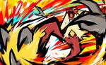 Blaziken | Blaze Kick