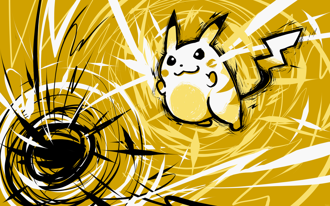 Pikachu | Thundershock by ishmam on DeviantArt