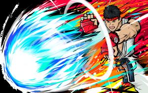 Ryu | Hadoken by ishmam