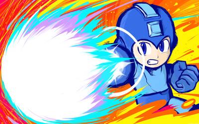 Mega Man | Charge Shot by ishmam