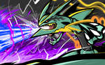 Mega Rayquaza | Dragon Pulse