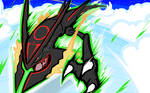 Shiny Mega Rayquaza | Dragon Ascent