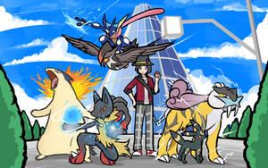 LuxusFrontier's Team by ishmam