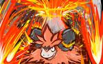 Mega Camerupt | Eruption