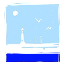 A little blue by ishmam