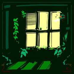 A little green by ishmam