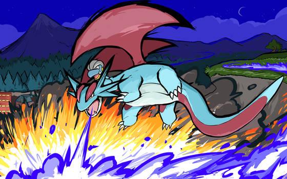 Salamence | Dragon Pulse