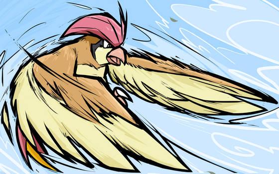 Pidgeotto   Whirlwind