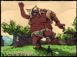Link versus Hinox