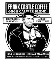 Frank Castle Coffee by Lord-Of-The-Guns