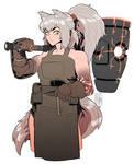 Wolfgirl Artificier