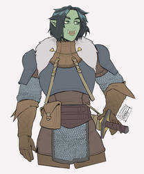 Half Orc Fighter