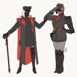 Cybergeneral and Lieutenant