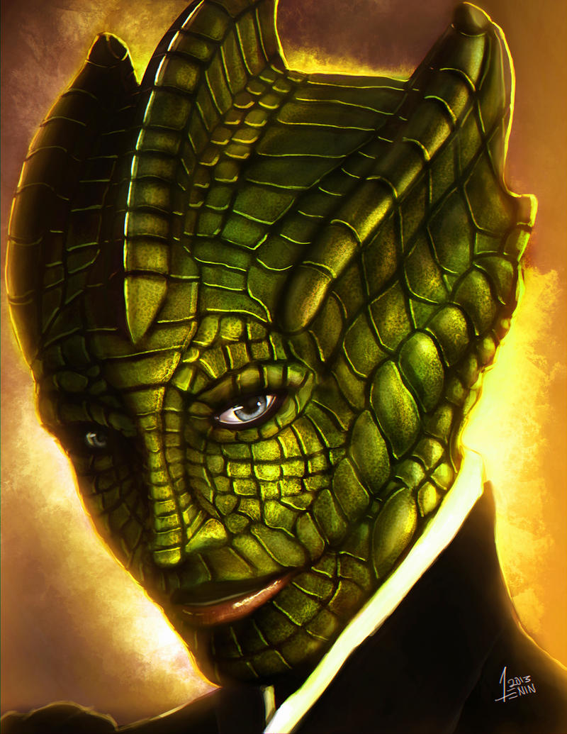 Madame Vastra by 13nin
